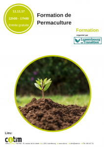 Formation: Permaculture @ CITIM | Luxembourg | District de Luxembourg | Luxemburg