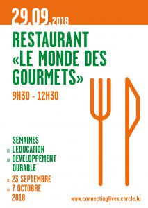 "ASTM: Restaurant ""Le monde des Gourmets"" @ Knuedler - Place Guillaume II 