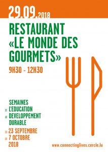 "ASTM: Restaurant ""Le monde des Gourmets"" @ Knuedler - Place Guillaume II | Luxembourg | District de Luxembourg | Luxembourg"