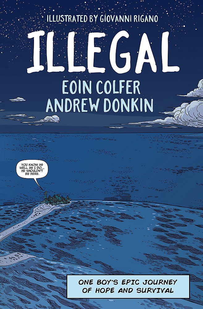 """Book cover of the comic book """"Illegal"""""""